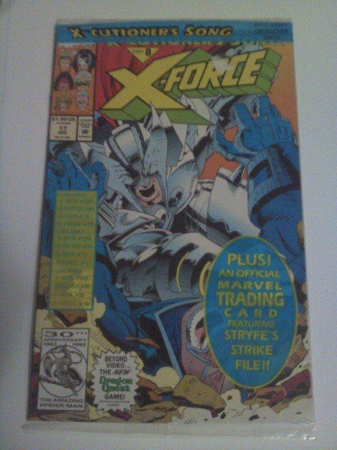 X-force # 17 Bagged xecutioner's song pt.8 Stryfe Vs Apocalypse