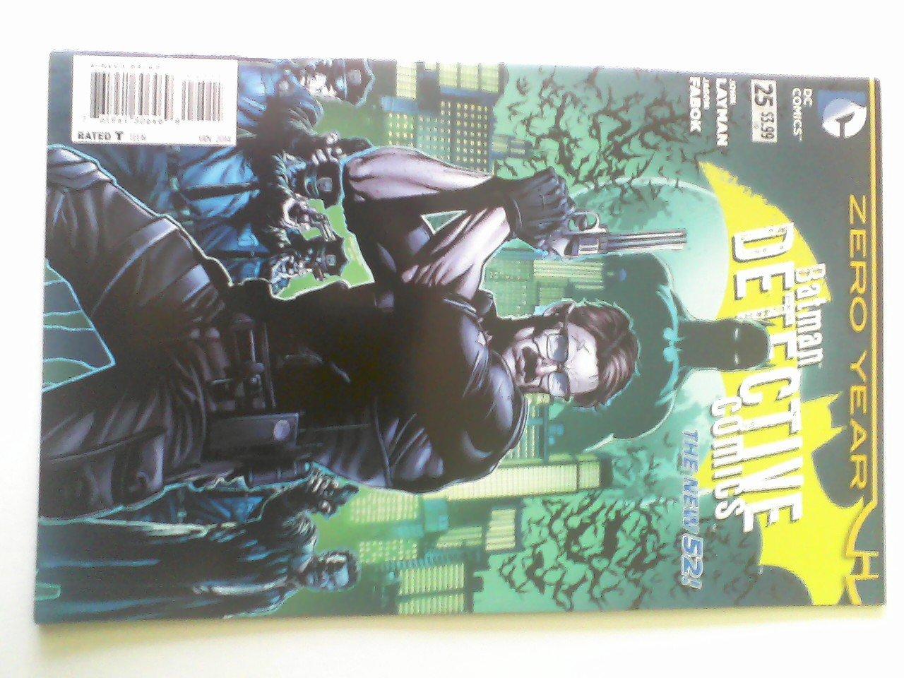 Detective Comics #25 Zero Year