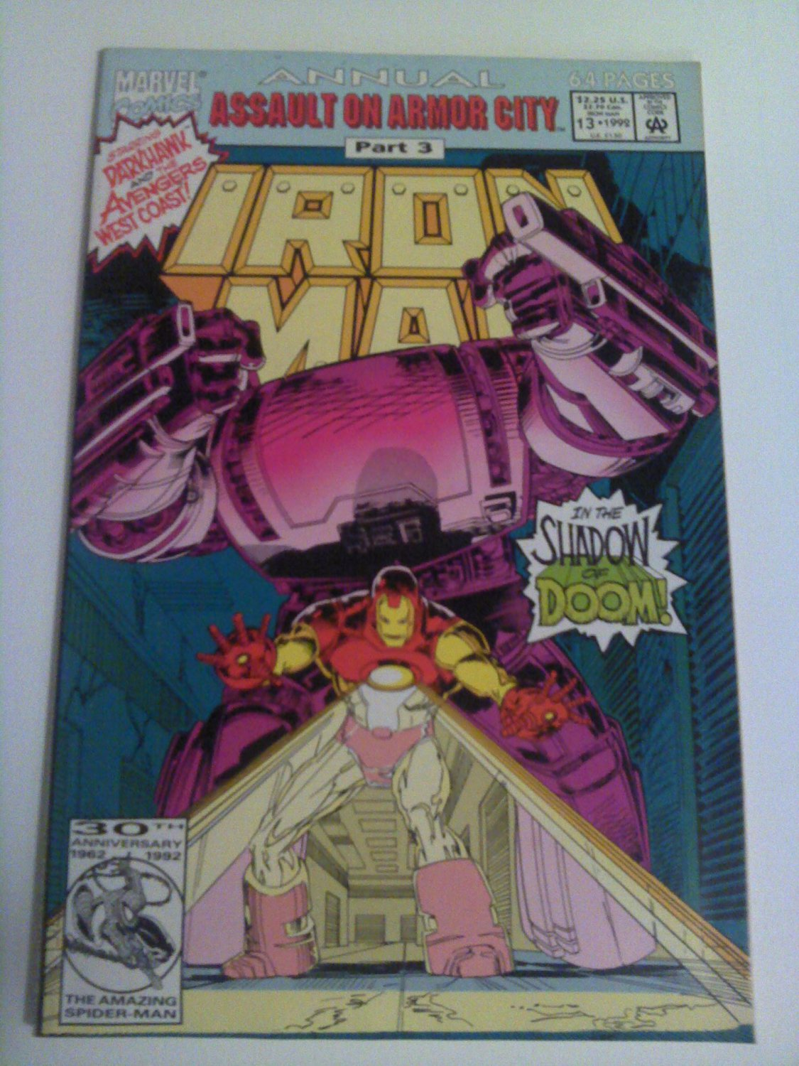 Iron Man ann. #13 Darkhawk, Avengers West Coast appearance
