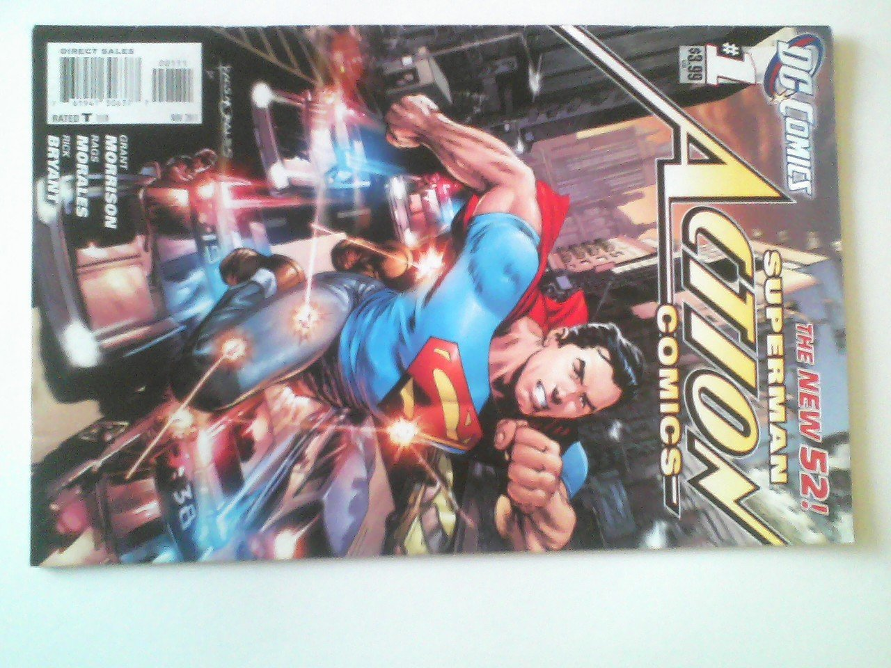 Action Comics #1 ,Action Comics #2 The new 52 The adventures of superman #0