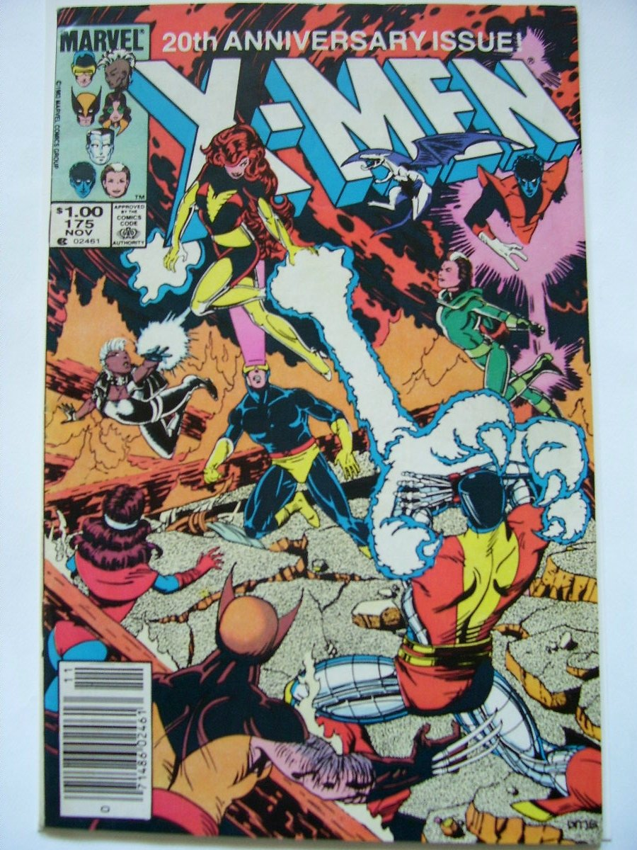 uncanny x-men 175 20th anniversary Double size Issue