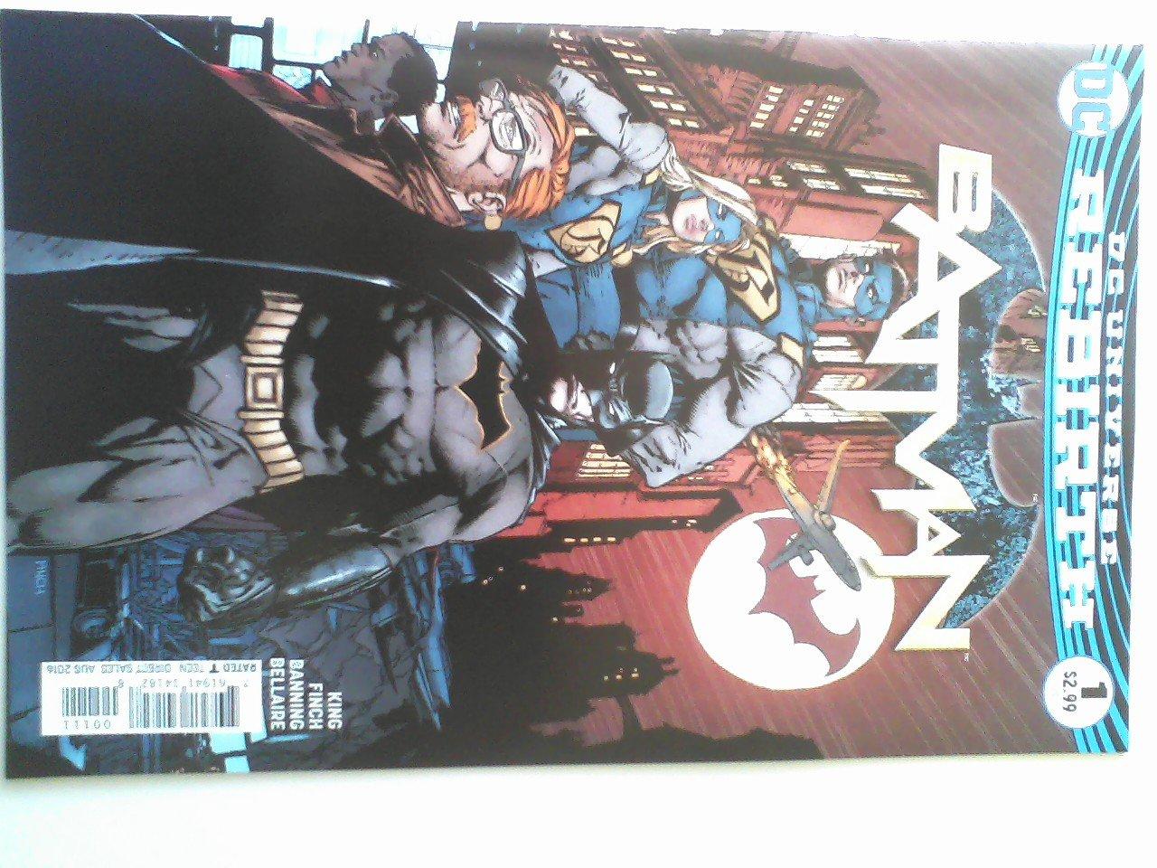 Batman #1 Rebirth