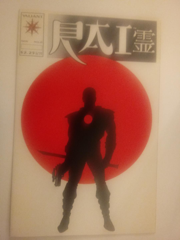 Batman/Superman #32 first appearance of Kenan Kong, Bloodshot #0