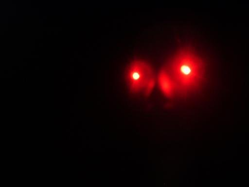 RED LEDs Spooky Halloween LED Eyes