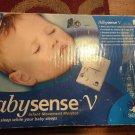 BabySense V HiSense 5 Sleep Infant Movement Alarm Monitor with 2 Sensing Pads