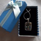 Breastplate Hoshen Shield Pendant Sterling Silver 925