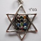 Star-of-David Pendant Silver 925 (Magen David)