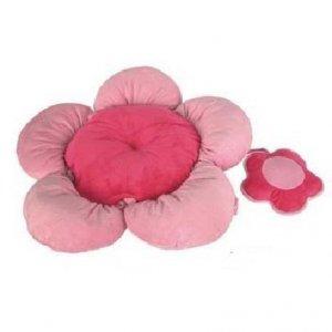 Pink Flower Pooch Bed