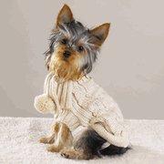 Cream Pooch Sweater