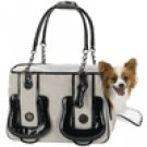 Black/White Pooch Carrier