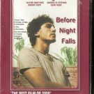 BEFORE NIGHT FALLS  Javier Bardem, Johnny Depp   R2 PAL R2 PAL original