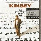 KINSEY Liam Neeson, Laura Linney, Peter Sarsgaard NEW R2 PAL original
