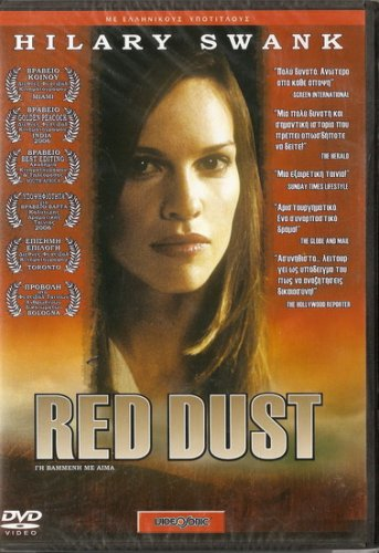RED DUST   HILARY SWANK, JAMIE BARTLETT  NEW SEALED DVD R2 PAL original