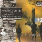 ARCADIA ARKADIA I, VII, VIII rare cd MIKIS THEODORAKIS