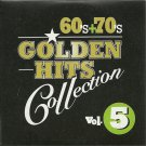60's + 70's GOLDEN HITS collection 5 PLATTERS VARIOUS