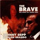 THE BRAVE Marlon Brando Johnny Depp R2 DVD