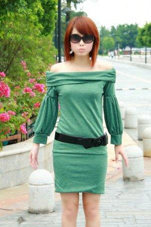 D0059 - Cotton & wool Dress