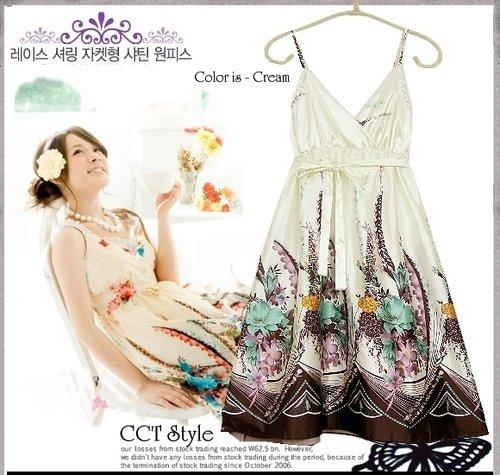 D0073 - Silk fabric Dress
