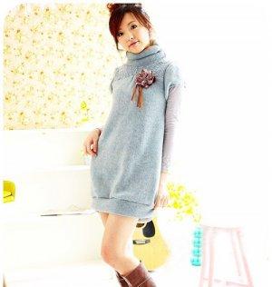 D0078 - woolen Dress