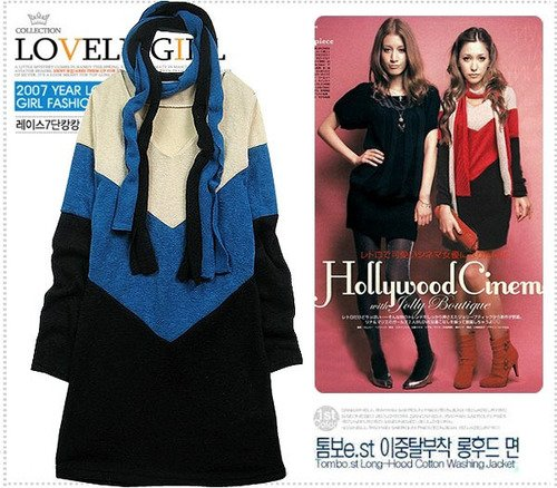 D0080 - woolen Dress