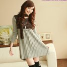 D0086 - Knitted Woolen Dress