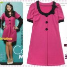 D0087 - Knitted Woolen Dress