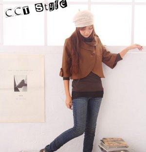 J0028 - Woolen textile Jacket