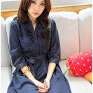 D0090-Sky Silk Dress