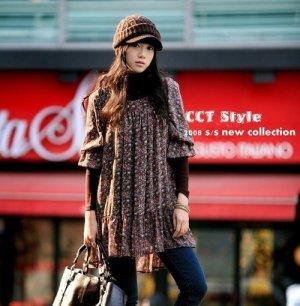 B0092 - chiffon blouse