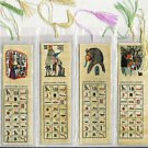 LOT OF 200 HIEROGLYPHIC ALPHABET BOOKMARKS FR EGYPT