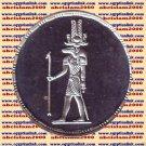 1994 Egypt silver 5 Pound Proof coin Ägypten Silbermünzen, Sobek KM#803