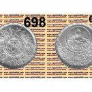 "1990 Egypt Silver Coins "" Centennial of Alexandria Sporting Club ""UNC, 5P,#KM698"