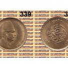 """Year 1923 Egypt Gold Coins """" King Fouad  """",20 Piasters"""" KM#339"""