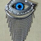 Hall marked Egyptian Islamic Silver Pendant ,Eye And Fatima Hand ,Many To Choose