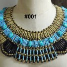 Egyptian Pharaoh  Faience Clay Mummy beads Necklace Many To Choose