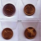 Lot x4 1,5,50&100 Piasters Tut,Cleopatra, Pyramids Error and Cancelled Coins