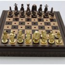 Egyptian,Ägypten,,Egipto Pharaoh Chess Set with Dominoes and Play card