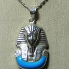 """Hall marked Egyptian Pharaonic Silver Pendant """"Isis &Tut """" ,Variety as a picture"""