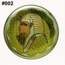 "COLLECTIBLE 12"" ROUND BRASS WALL HANGING BRASS EMBOSSED MOTIF Egyptian Plate"
