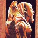 "Egyptian, Pharaonic, Authentic Dark Papyrus Paint size 20x30 cm(8""x12"")"