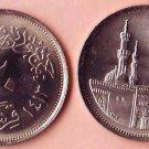 Coins Metal-Munzen-Monedas LOT x6 Coins Egypt  20 Piastres1984-1992 Rare !!!