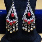 Hall marked Egyptian, Authentic,Bedouin Siwa Silver Earrings Many To Choose From