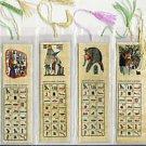 LOT OF 500 HIEROGLYPHIC ALPHABET BOOKMARKS FR EGYPT