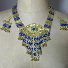 Egyptian Custom Jewlery Set Necklace and Earings, Many Colors to choose
