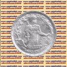 """1974 Egypt Egipto مصر Ägypten Silver Coins """" 6th October War """" 1 P, #KM443"""
