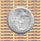 """1979 Egypt Egipto مصر Ägypten Silver Coins """" 1971 Corrective Revolution """",1 P"""