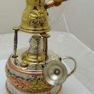 1 handmade Brass Turkish Coffee Maker alcohol burner and pot ibrik , Variation