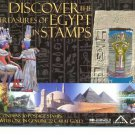 Year 2004 DISCOVER THE TREASURES OF EGYPT IN STAMPS BOOKLET