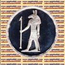 1994 Egypt silver 5 Pound Proof coin Ägypten Silbermünzen, Seith (God of storms)