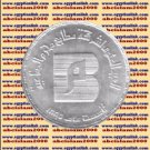 "1985 Egypt Egipto Египет مصر Silver Coins ""Moharram Printing Press Co"" , 5 P"